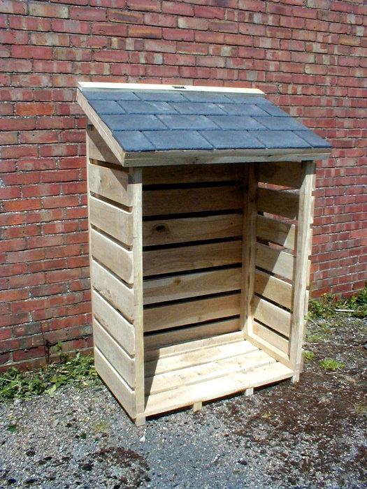 Log Store English Oak 25 Year Guarantee